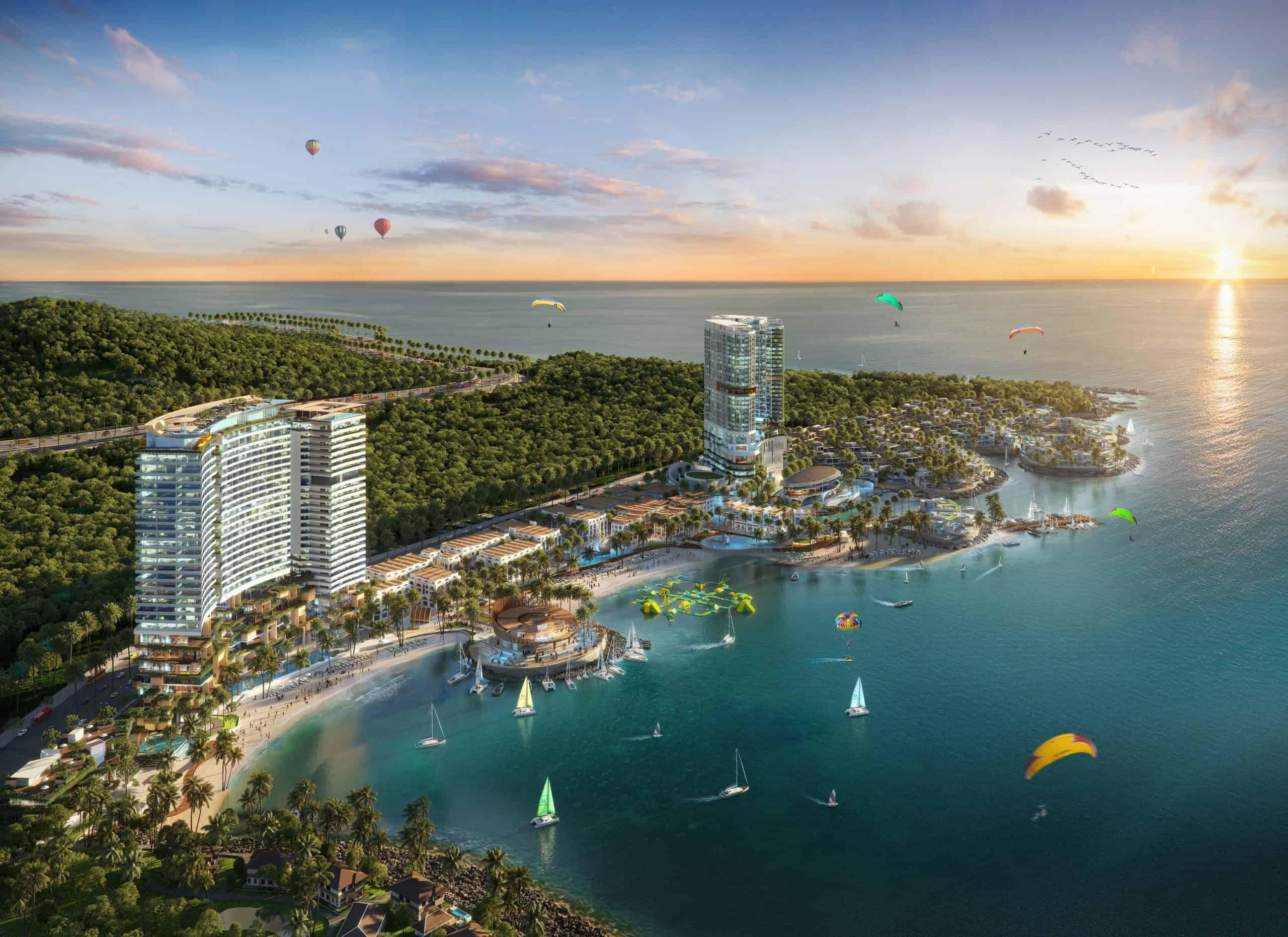 Tổ hợp nghỉ dưỡng Vega City có vị trí thuận lợi cho phát triển kinh tế