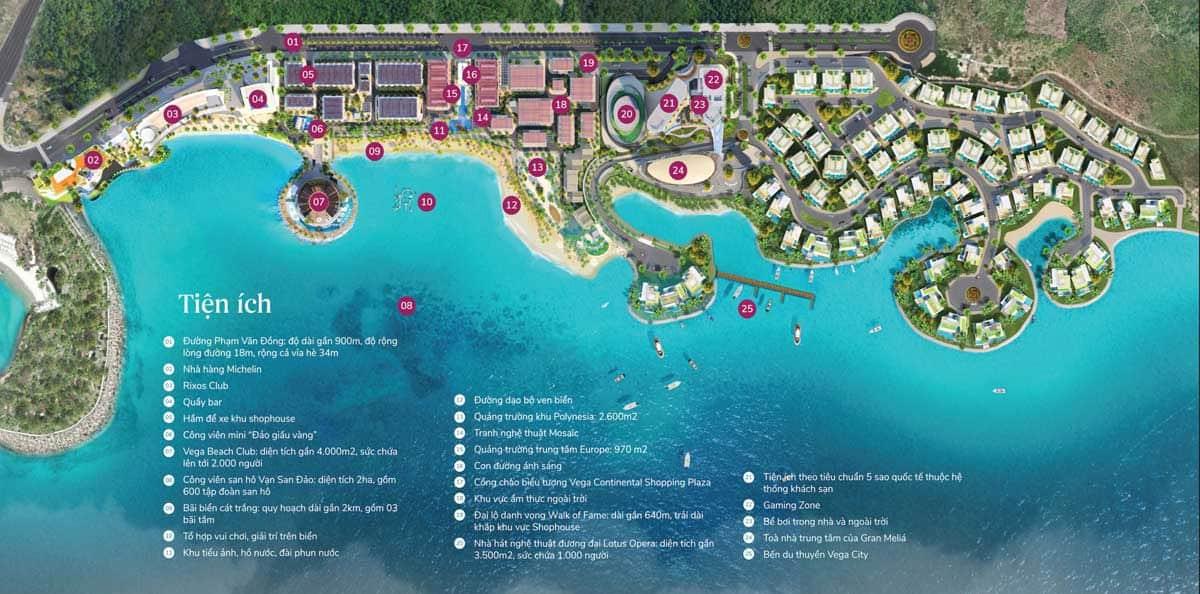 siêu điểm đến vega city nha trang có công viên san hô vạn đảo san