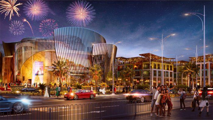 dự án thành phố ánh sáng vega city