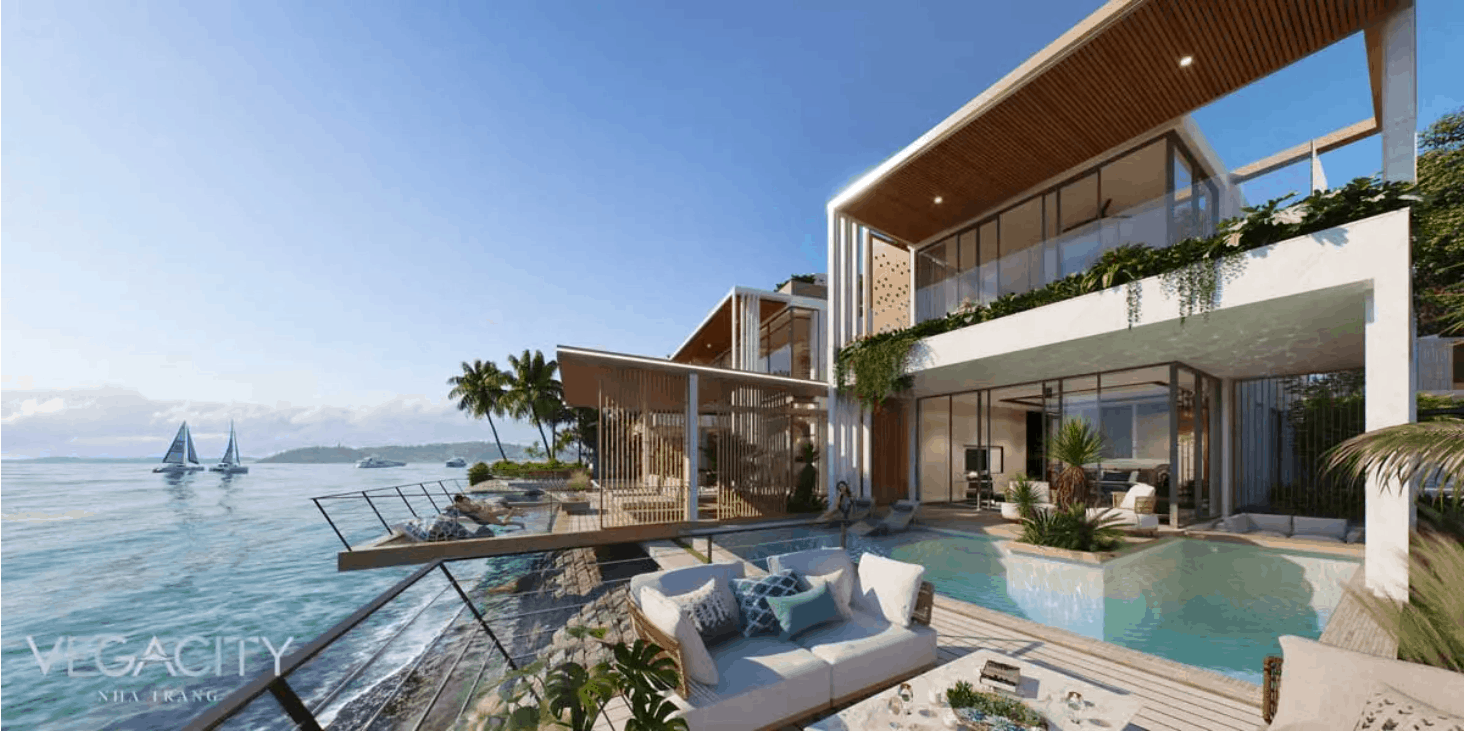 Villa ven biển Nha Trang Vega City