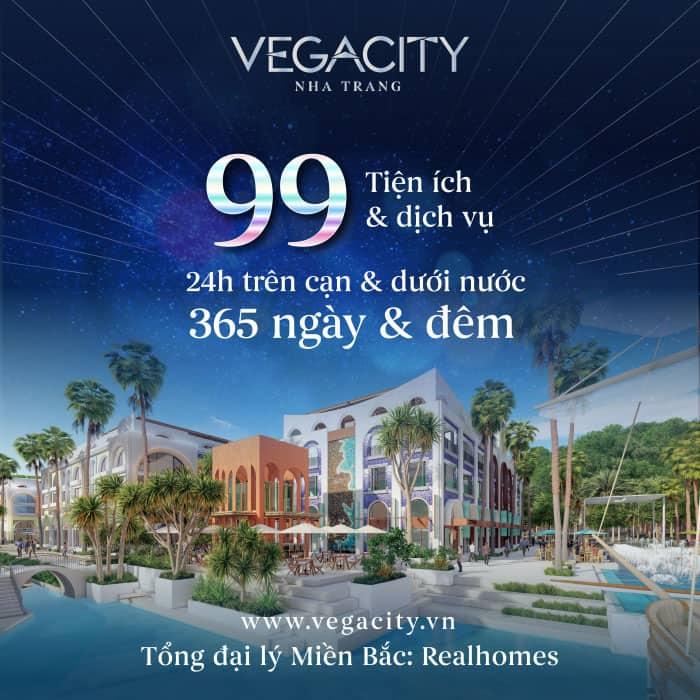 tiện ích vega city nha trang