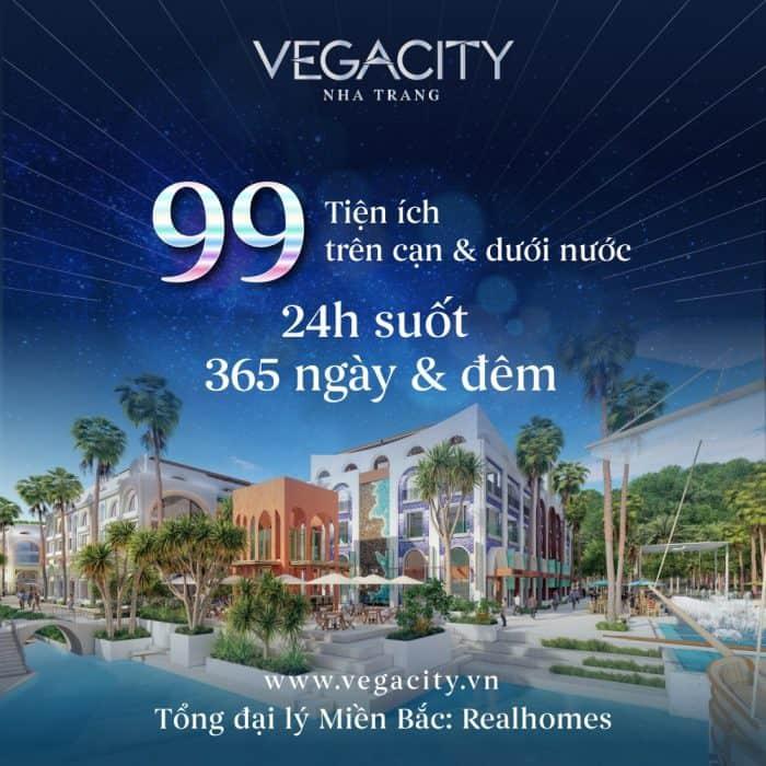 99 tiện ích tại Vega City Nha Trang