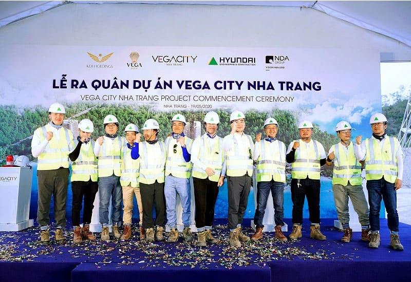 dự án tập đoàn KDI Vega City Nha Trang