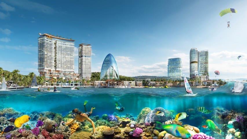 villa ven biển nha trang vegacity