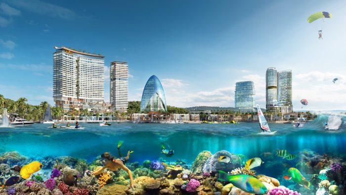 công viên san hô vega city