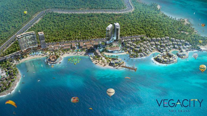 Quần thể BĐS ven biển Vega City
